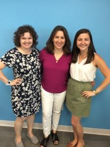Jen Devor, Deborah Diamond, and Beth Mannella